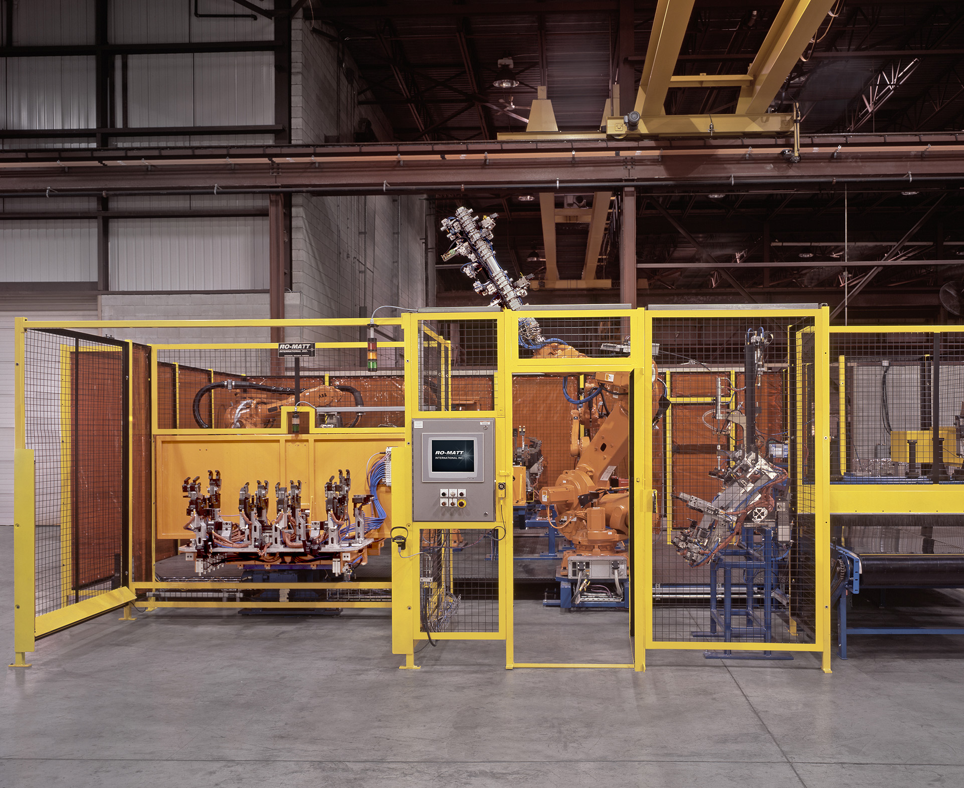 Production Welding Cell