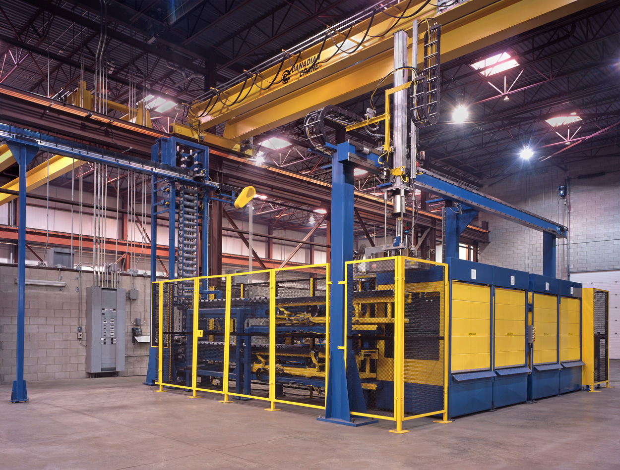 Tube Handling, Inspection and Packaging Line