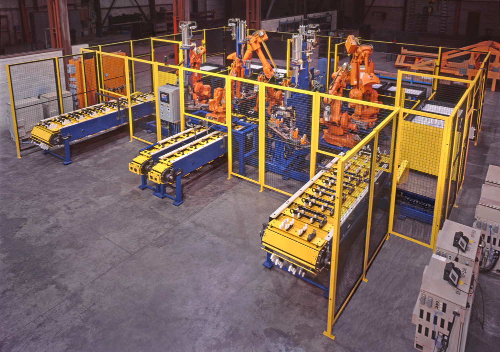 Fully Automatic Bushing Insertion Line