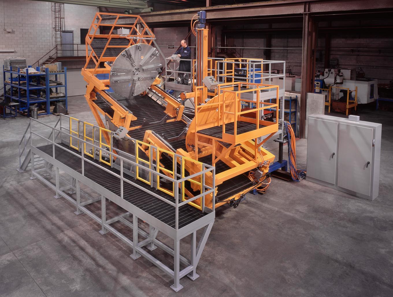 Heat Exchanger Sub Arc Welding System