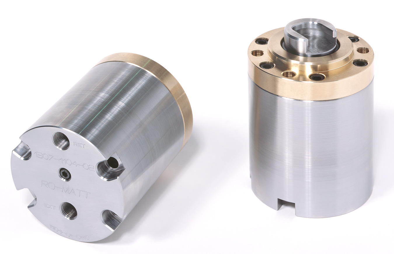 Hydro-Eject Cylinders With Quick Change Tooling