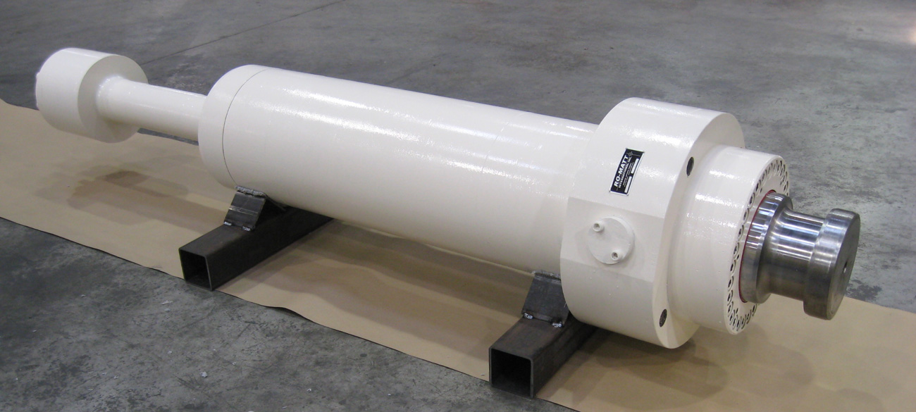 Hydroforming Press – Platten Pullback Cylinder