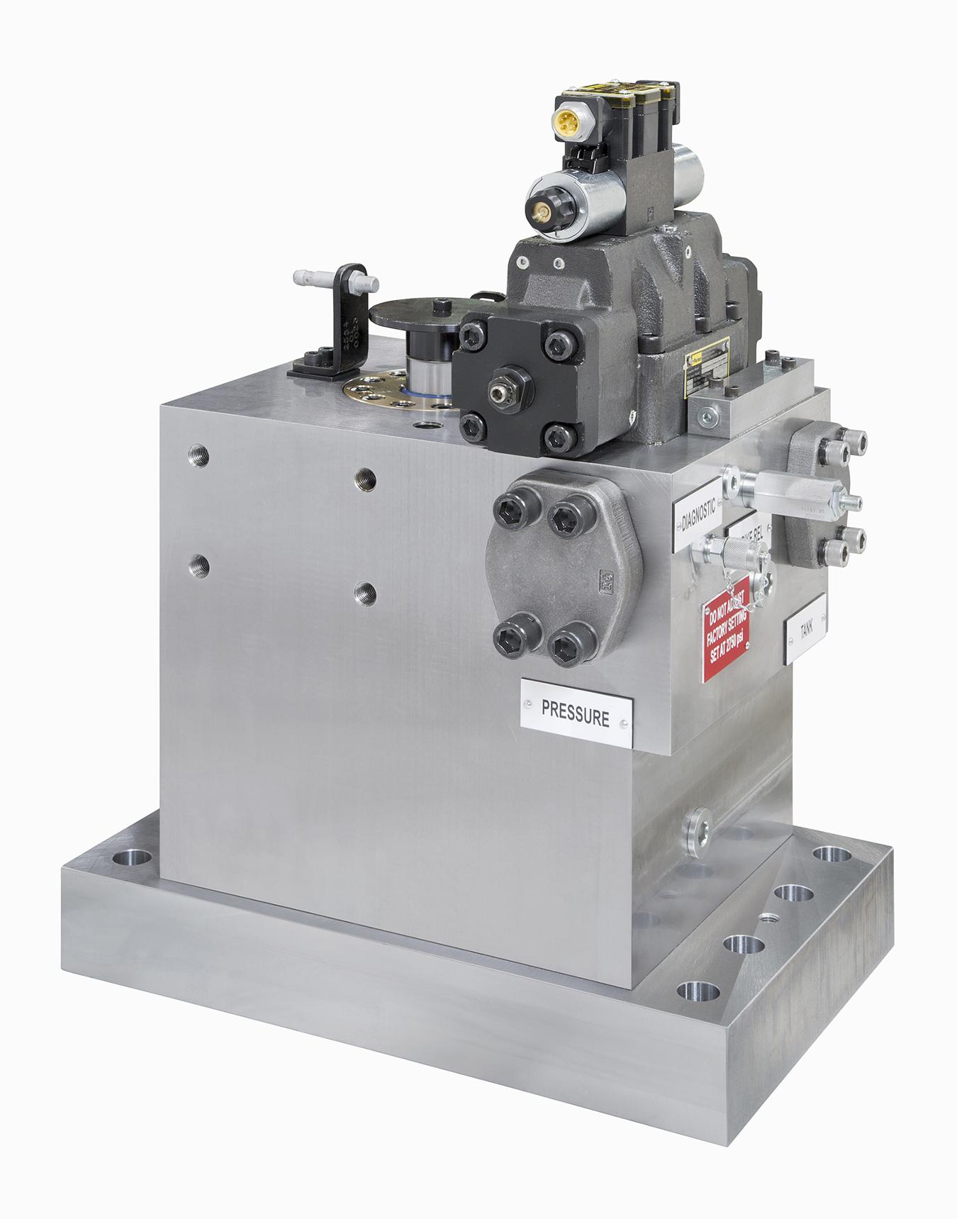 High Pressure, High Tonnage Custom Shear Line Cylinder